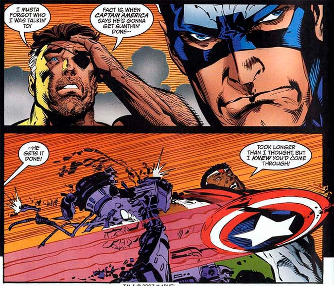 Image from Captain America #27