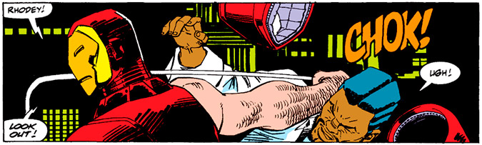 Image from Invincible Iron Man #263