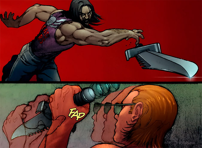 Image from Thunderbolts #134