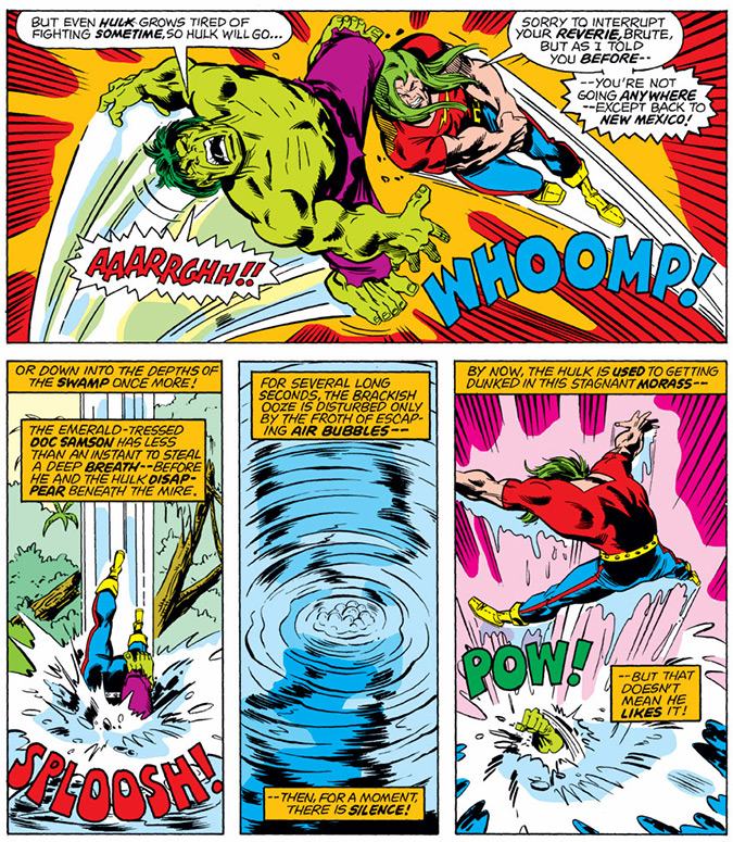 Image from Incredible Hulk #199