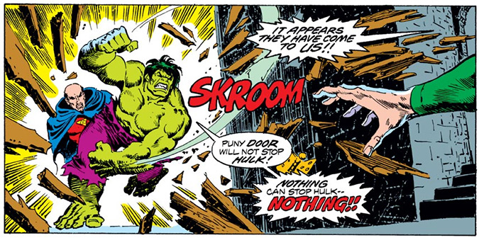Image from Incredible Hulk #210