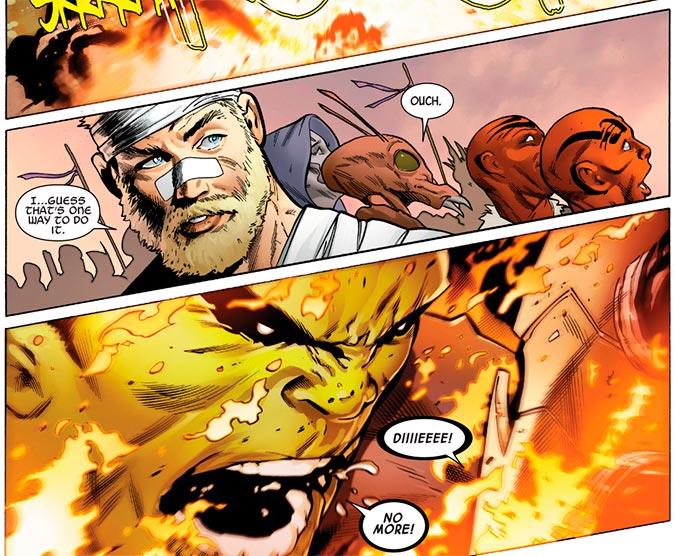 Image from Incredible Hulk #713