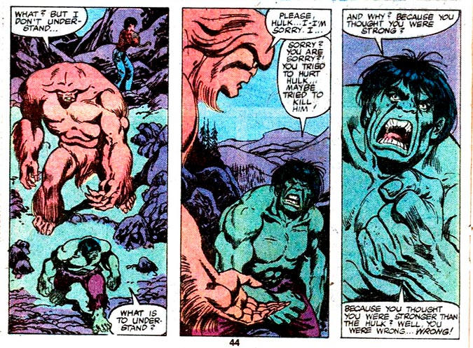 Image from Incredible Hulk Annual #8