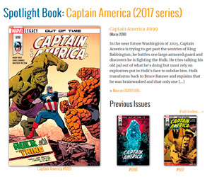 Captain America Comics Library